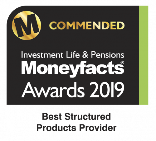 Logo Investment Life & Pensions Moneyfacts Award 2018