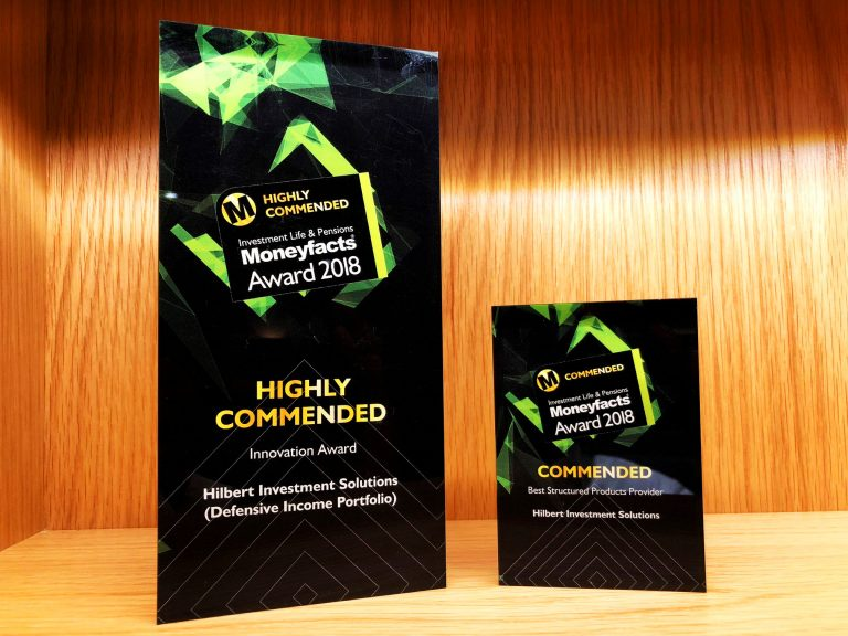 Moneyfacts Award 2018 Hilbert Investment Solutions