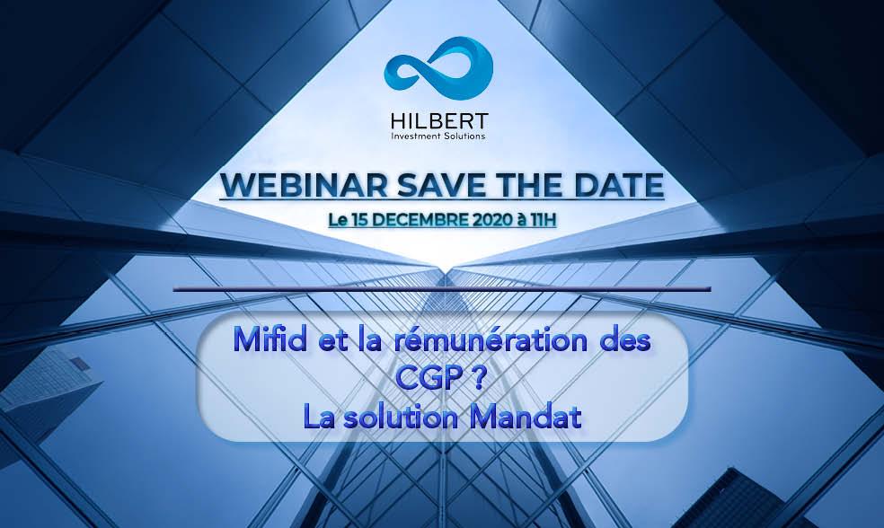 Webinar Hilbert Investment Solutions 15 Décembre 2020